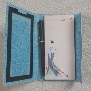 Office - Stationary notepad and pen